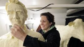 Meet the sculptor turning butter into magnificent art