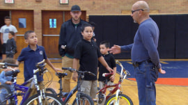 Meet the man on a mission to help every kid in his town have a bike