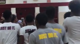 See LeBron James stun NYC high schoolers in surprise visit