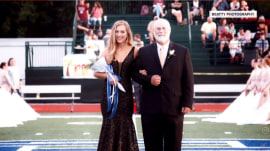 High schooler crowned homecoming queen, then wins football game