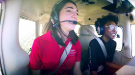 TODAY helps 1 woman's dreams of being a pilot take off
