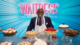The newest addition to Broadway's 'Waitress' is … Al Roker!