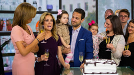 KLG and Hoda bid farewell to senior producer Adam Miller