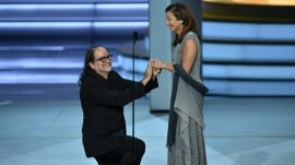 Emmys 2018: Acceptance speech turns into sweet wedding proposal