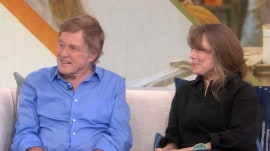 Sissy Spacek and Robert Redford talk about working together for 1st time