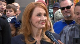J.K. Rowling and 'Fantastic Beasts' cast stop by the TODAY plaza