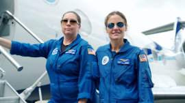 Meet the 2 hurricane hunters making history in the skies