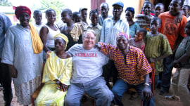 Howard Buffett lives a small-town life as he makes the world a better place
