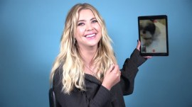 Ashley Benson FaceTimes her dogs and explains how they ease her anxiety