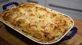 How to make a delicious chicken pot pie casserole