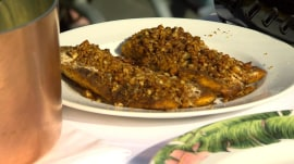 New Orleans food: Make Tory McPhail's pecan-crusted fish