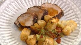 Tiffani Thiessen makes a delicious, spicy pork tenderloin