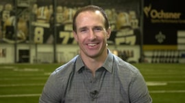 Drew Brees talks breaking passing yards record: 'It was a surreal moment'