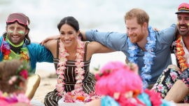 Duke and Duchess of Sussex visit Bondi Beach to talk mental health