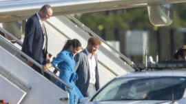 Duke and Duchess of Sussex's plane aborts landing in Sydney