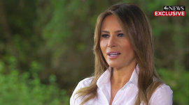 Melania Trump speaks out on president's alleged extramarital affairs