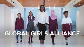 Michelle Obama announces Global Girls Alliance