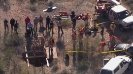 Man rescued after trapped for days in Arizona mine shaft
