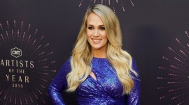 Carrie Underwood says 2nd pregnancy is 'harder on my body'