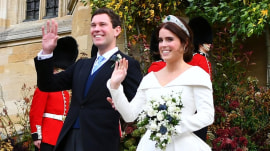 Princess Eugenie marries in 2nd royal wedding of the year