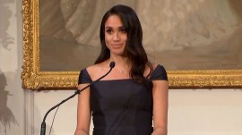 Duchess of Sussex celebrates women's suffrage, feminism in speech