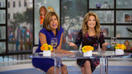 Who would portray KLG and Hoda on the big screen?