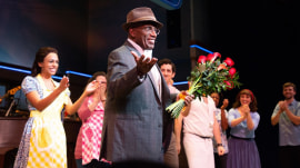 TODAY family celebrates Al Roker's Broadway debut in 'Waitress'