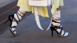 Would you ever wear socks with high-heeled shoes?