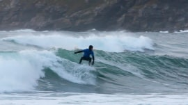 Visit the popular surfing lodge located above the Arctic Circle