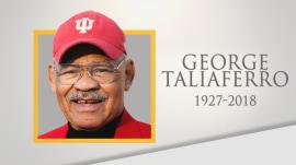 Trailblazing football player George Taliaferro dies at 91