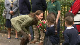 Duchess of Cambridge attends 1st official event since Prince Louis' birth