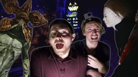 Take a tour of Halloween Horror Nights at Universal Studios