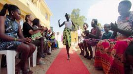 International day of the girl: Walking the catwalk in Uganda