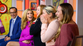 Ambush Makeover: Lucky mom gets new look before daughter's wedding