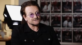 Bono speaks out about his fight against AIDS
