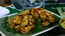 Football food: Make wings, caramelized onion dip and more