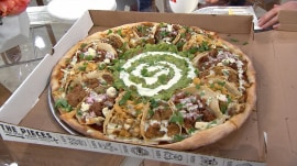 Would you eat a pizza with tacos on it?