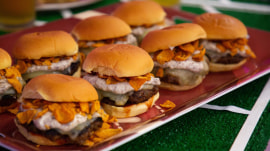 Tailgating food: Make meatloaf sliders and Reuben brats