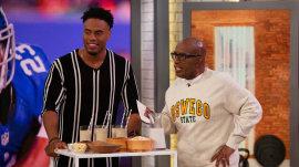 Former NFL player Rashad Jennings shares healthy living advice