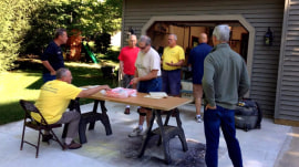 How one man is trying to foster friendships among retired men