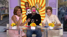 Ricky Gervais crashes KLG and Hoda's chat!