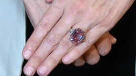 Rare pink diamond sells at auction for record $50 million