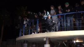 Central American migrants reach US border