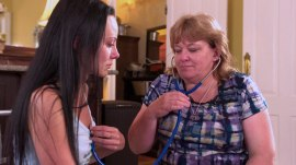 Organ donation saves woman's life -- watch her thank donor's parents