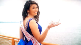 Meet the beauty queen breaking stereotypes with unlikely day job