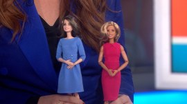 Savannah and Hoda get their very own Barbie dolls