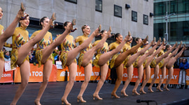 Watch the Radio City Rockettes perform new finale on TODAY