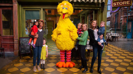 TODAY anchors and their kids take a fun trip to 'Sesame Street'