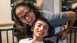 A new dawn: One father's love helps family thrive after son's near-death experience