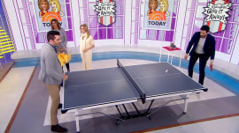 Give It Away: 5 TODAY viewers receive table tennis sets from Dick's Sporting Goods